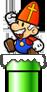 Sinterklaas Mario DS