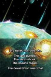 Dark Conflict begint met een kometenregen die het grootste deel van het leven op de planeet wegvaagt.