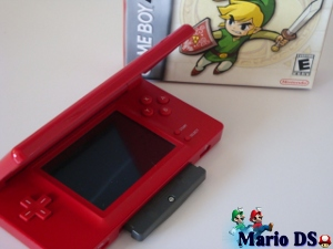 Nintendo DS met GameBoy Advance Spel Zelda