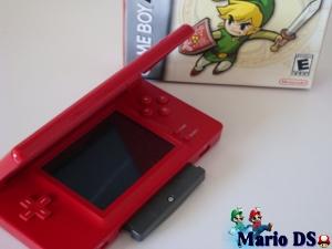 Nintendo DS met GameBoy Advance Spel Zelda